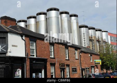Molson Coors Burton Brewery at Burton-on-Trent Staffordshire England Uk - Stock Photo