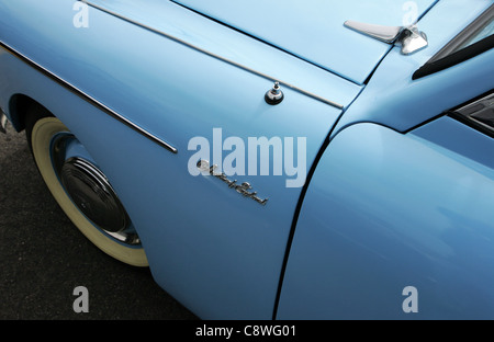 Austin A40 Sports vintage car. - Stock Photo