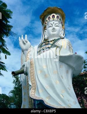Statue of Buddhist Goddess of Mercy Guan Yin Repulse Bay Hong Kong Island