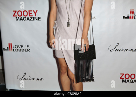 Amy Rider arrivals Zooey Magazine Love is Louder Anniversary Celebration Drai's Hollywood atW Hotel Los Angeles - Stock Photo
