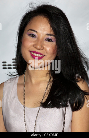 Amy Rider arrivals Zooey Magazine Love is Louder Anniversary Celebration Drai''s Hollywood atW Hotel Los Angeles - Stock Photo