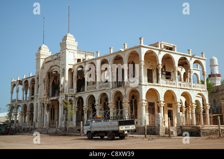 Italian Bank, Massawa, Eritrea, Africa - Stock Photo