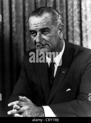 Lyndon B. Johnson, Lyndon Baines Johnson, often referred to as LBJ, was the 36th President of the United States - Stock Photo