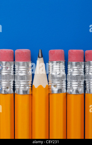 Studio shot of pencils - Stock Photo