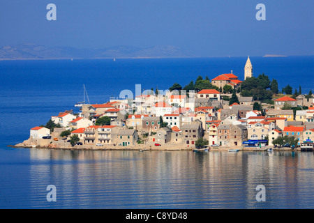 Primosten town in Croatia - Stock Photo