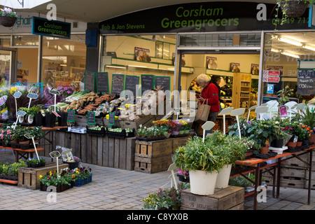Corsham Wiltshire england UK - Stock Photo