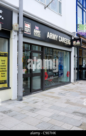 Army Careers office in Southampton UK - Stock Photo