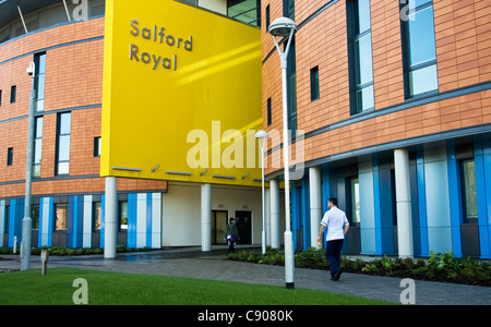 New Hope building , Salford Royal Hospital, Salford, Greater Manchester, UK - Stock Photo