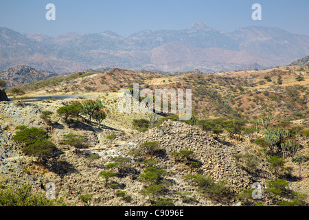 Eritrean Highlands, Eritrea, Africa - Stock Photo