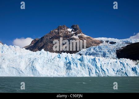 Spegazzini glacier, Lago Argentino, Los Glaciares National Park, near El Calafate, Patagonia, Argentina - Stock Photo