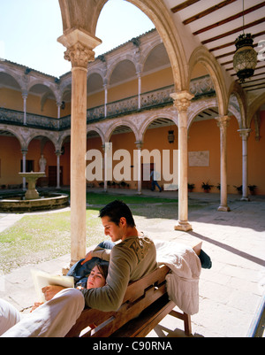 Casa De Las Torres In Ubeda Spain Now The School Of Arts Stock Photo Alamy