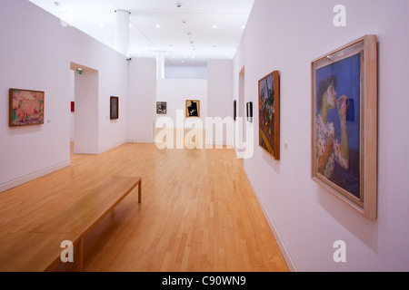 Museum of Modern and Contemporary Art in Strasbourg France - Stock Photo