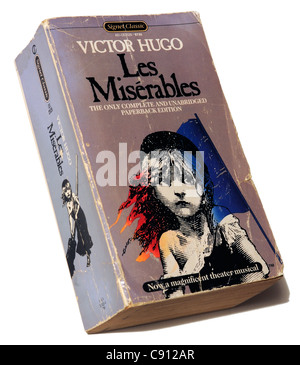 Les Miserables by Victor Hugo - Stock Photo