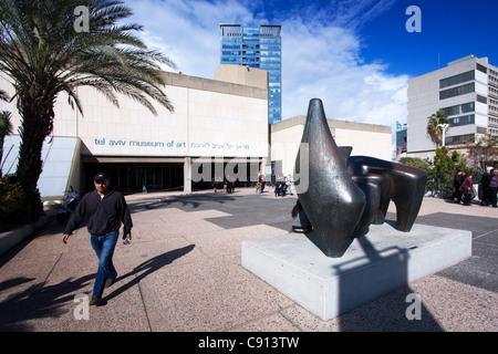 Museum of Art in Tel Aviv Israel - Stock Photo