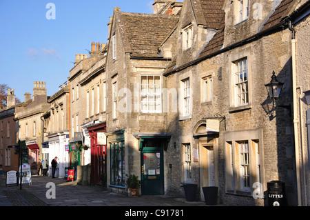 High Street, Corsham, Wiltshire, England, United Kingdom - Stock Photo