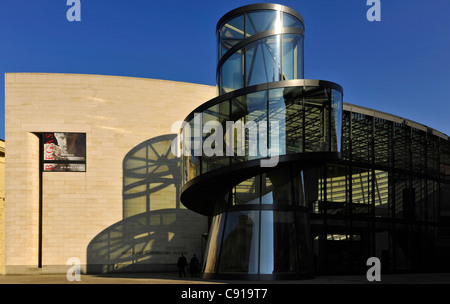 The extension of the German Historical Museum, Berlin, Germany - Stock Photo