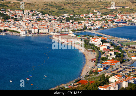 Pag town, Croatia. - Stock Photo