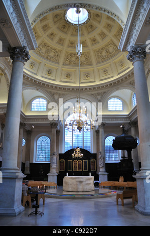 ... Church Of St Stephen Walbrook City Of London UK.Originally A Saxon  Church Built In