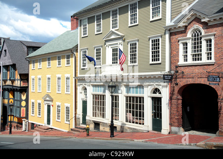 As one of the first cities in the country Providence contains many historic buildings the East Side neighborhood - Stock Photo