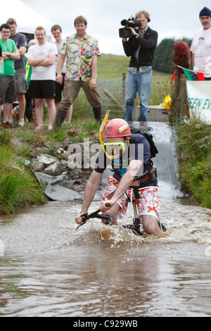 The Quirky Annual World Mountain Bike Bog Snorkelling