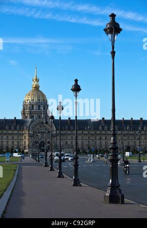Paris, Esplanade des Invalides - Stock Photo