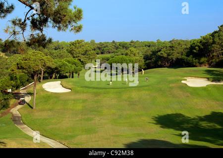 Quinta do Lago Golf Course Algarve Portugal - Stock Photo