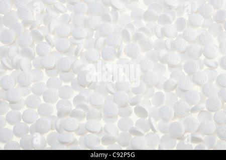 Aspirin Background - Stock Photo