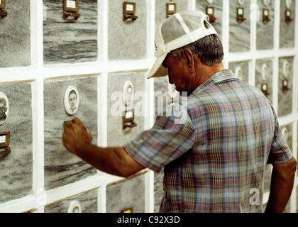 Inside the Mausoleum of the Fallen in Internationalist Missions (Colón Cemetery). Plaza de la Revolución, La Habana, - Stock Photo