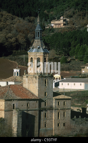 Spain. La Rioja. Monastery of San Millan de Yuso (16th-18th centuries). Exterior. - Stock Photo