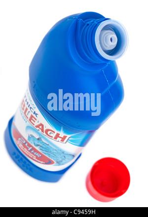 Bottle of Tesco thick bleach