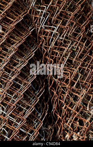 Wire Mesh for background use - Stock Photo
