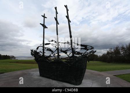 Famine Monument - Stock Photo