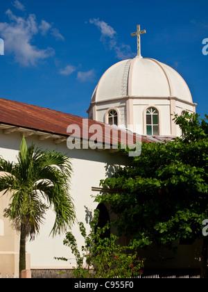 Catholic church in Trinidad Honduras - Stock Photo