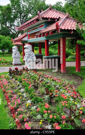 International Peace Garden in Jordan River Park in Salt Lake City ...
