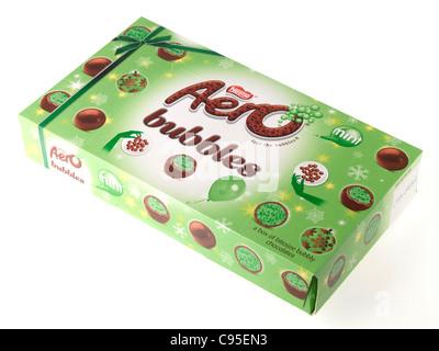 Box of Aero Mint Bubbles - Stock Photo