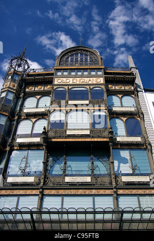 The Old England Building, which houses the Musical Instruments Museum (MIM) in Brussels, Belgium. - Stock Photo