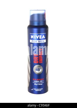 Nivea Dry Impact Deodorant - Stock Photo