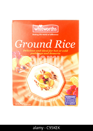 Whitworths Ground Rice - Stock Photo