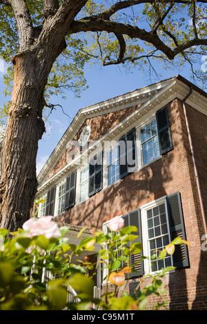 John Marshall House, Federal style, 1790, Richmond, Virginia, USA. - Stock Photo