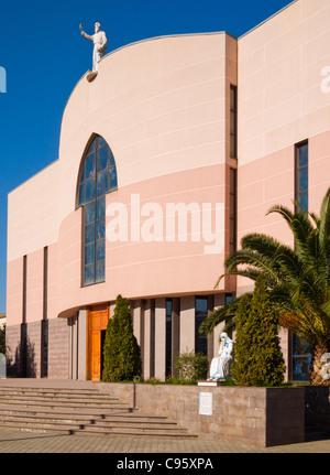 Saint Paul's Cathedral, Tirana, Albania - Stock Photo
