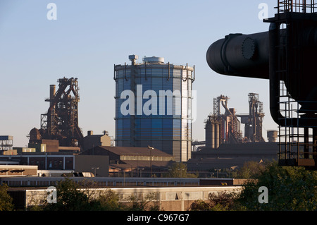 Steel factory Germany - Stock Photo