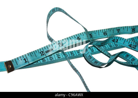 A tailor's measuring tape