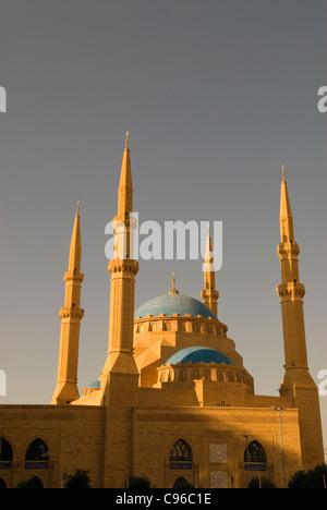 Muhammad Al-Amine mosque, Downtown, Beirut, Lebanon. - Stock Photo