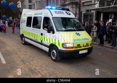 City of London Lord mayor's mayor show parade - Stock Photo
