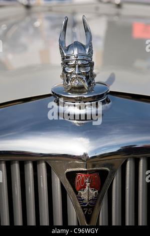 rover car radiator cap - Stock Photo