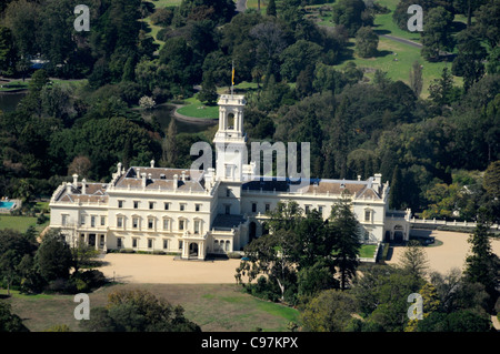 Government House, the residence of the Governor of Victoria in Melbourne,Australia - Stock Photo