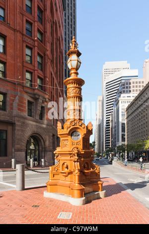 Lotta's Fountain, San Francisco - Stock Photo