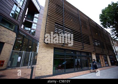 Trampery East London Tech City technology hub located in London, United Kingdom. Photo:Jeff Gilbert - Stock Photo