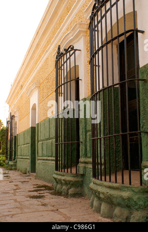 Nineteenth century building in the town of El Quelite near Mazatlan, Sinaloa, Mexico - Stock Photo
