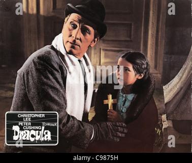 Horror of Dracula Year: 1958 - UK Peter Cushing, Janina Faye Director: Terence Fisher - Stock Photo